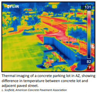Thermal imagery photo